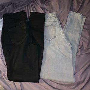 2 pairs Old Navy Rockstar size 4Long